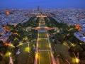Eiffel-torony kilátás