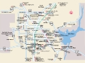 Las Vegas Surrounding térkép