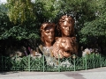 Las Vegas - Siegfried and Roy Statue