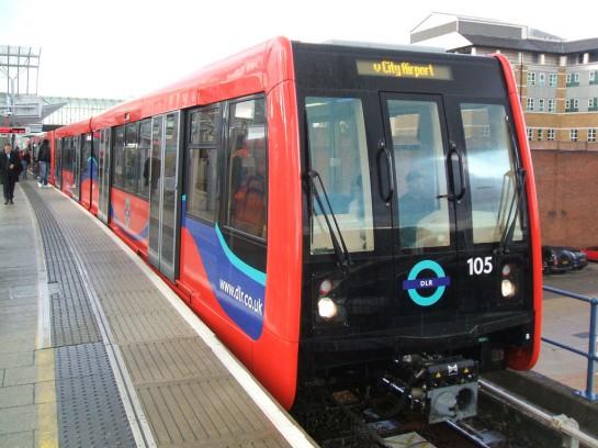 London DLR gyorsvasút