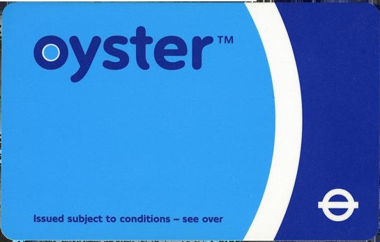 Londoni tömegközlekedés, London Oyster kártya
