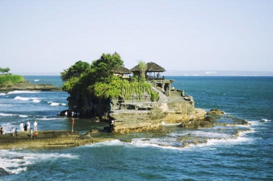 Bali - Tanah Lot templom a tengeren