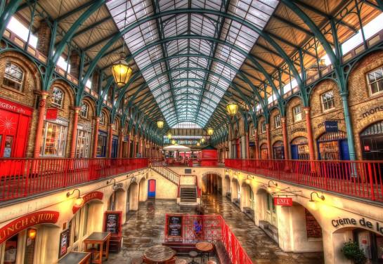 London Covent Garden piaccsarnok