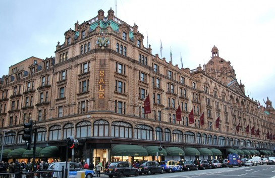 London Harrods áruház