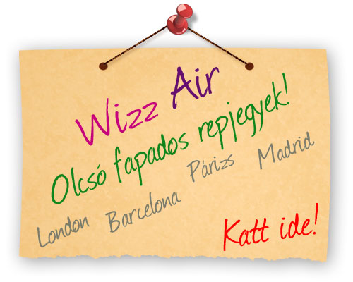 Wizz Air lgitrsasg, Olcs fapados repljegyek