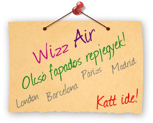 Wizz Air légitársaság, Olcsó fapados repülőjegyek