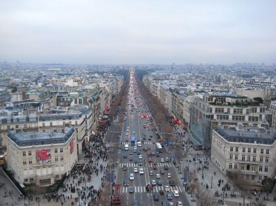 Párizsi Champs-Élysées