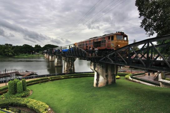 Thaiföld, Kwai folyó és híd