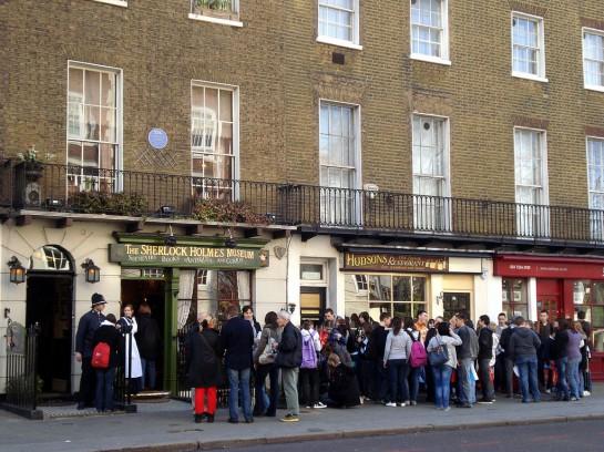 London Sherlock Holmes Múzeum