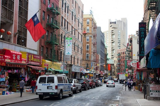 New York Kínai negyed - Chinatown