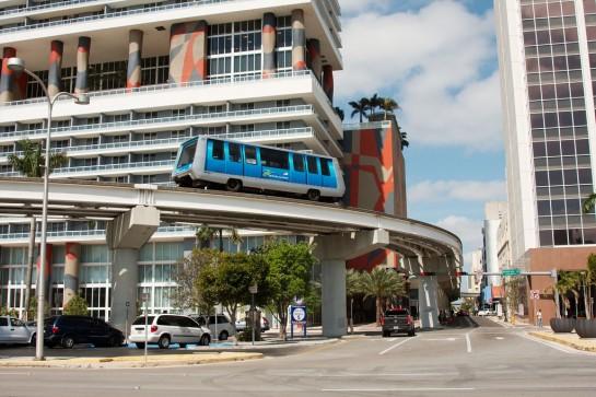 Miami Metromover - ingyenes metró
