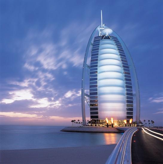 Dubai Burj Al Arab hétcsillagos szálloda