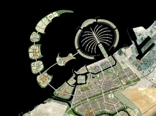 Dubai Dzsumeira Pálma - Palm Jumeirah