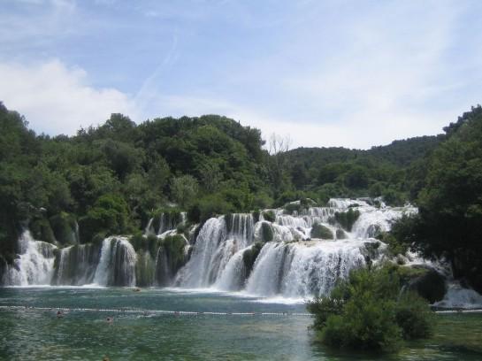 Krka Nemzeti Park, Horvátország - Skradinski buk vízesés