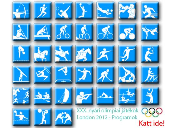 XXX. nyári olimpiai játékok London 2012 - Programok