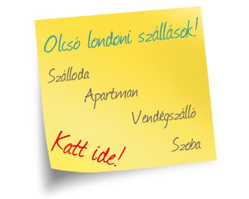 Olcsó szállások London városában - Szálloda, Motel, Hostel, Apartman