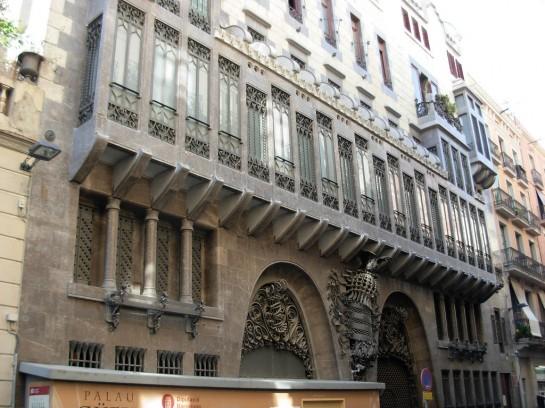 Barcelona Güell-palota