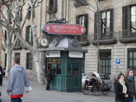 Barcelona, Madame Tussauds Viasz Múzeum