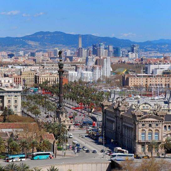 Barcelona Kolumbusz-emlékmű