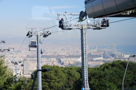 Barcelona Montjuic libegő - Montjuic Cable Car