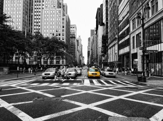 New York Ötödik sugárút - Fifth Avenue, 5th Avenue, 5 AV