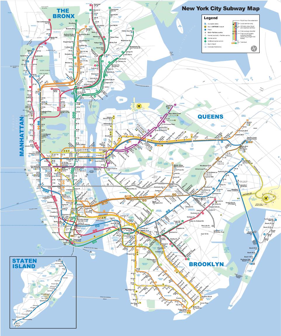 new york térkép New York, New York City, Manhattan, Brooklyn, Térkép, Repülőjegy  new york térkép