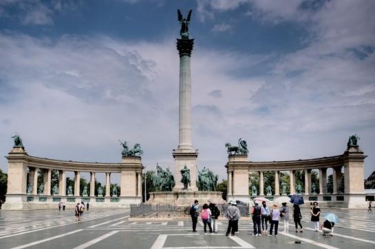 Budapest Hősök tere, Millenniumi Emlékmű