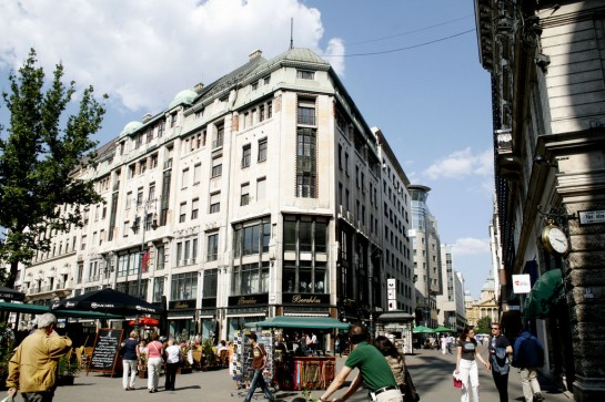 Budapest Váci utca