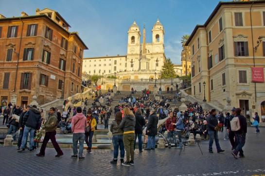 Spanyol lépcső, Róma