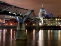London - Millenium Híd éjszaka 01