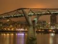 London - Millenium Híd éjszaka 02