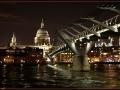 London - Millenium Híd éjszaka 03